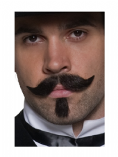 Wild West Authentic Western Gambler Moustache